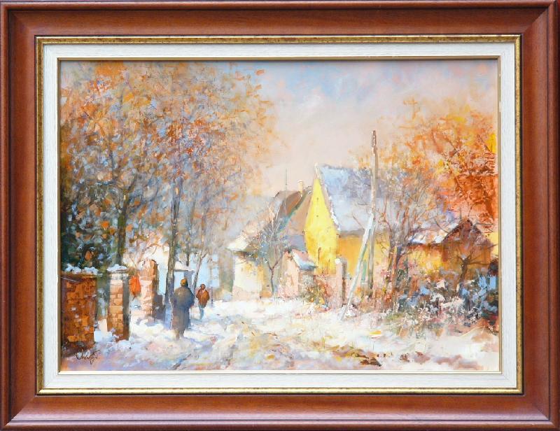 Mág Tamás: Salföldi utca télen